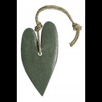 Hart XL circa 100 gram (leger)groen parfum olive