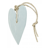 MIJN STIJL Hart XL 100 gram licht blauw parfum linnen