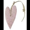 MIJN STIJL Hart XL 100 gram oud roze met zemelen parfum roos