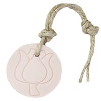 Hanger tulp 70 gram licht roze parfum mille Fleur