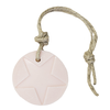 MIJN STIJL Hanger rond ster licht roze parfum mille fleur 70 gram