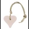 MIJN STIJL Hanger hart 55 gram licht roze parfum mille fleur