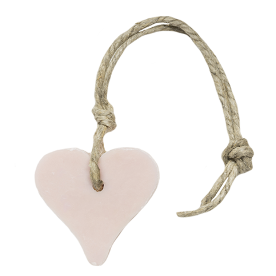 Hanger hart 55 gram licht roze parfum mille fleur-1