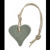 MIJN STIJL Hanger hart legergroen 55 gram parfum olive