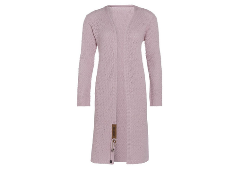 KNIT FACTORY Luna vest pink 40-42