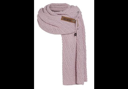 KNIT FACTORY Luna sjaal roze