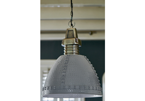 RIVIERA MAISON Baltimore Hanging Lamp grey M