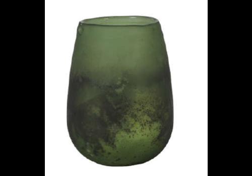 LIGHT & LIVING Vase Ø9x12 cm RAOEL green