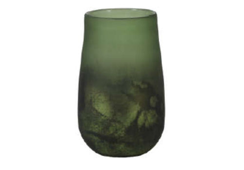 LIGHT & LIVING Vase Ø10x16 cm RAOEL green