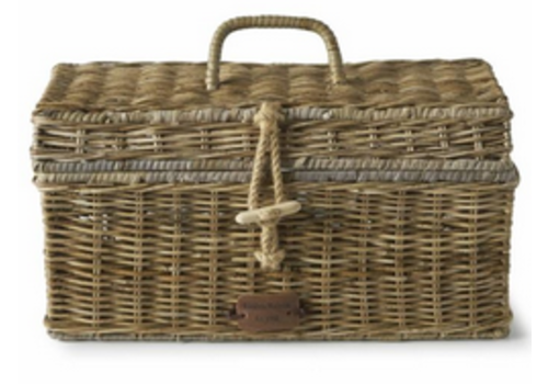 RIVIERA MAISON Rustic Rattan Holiday Breadbox