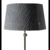 Classic Lampshade dark grey 20x35