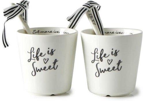 RIVIERA MAISON life is sweet ice cream cup 2 pcs