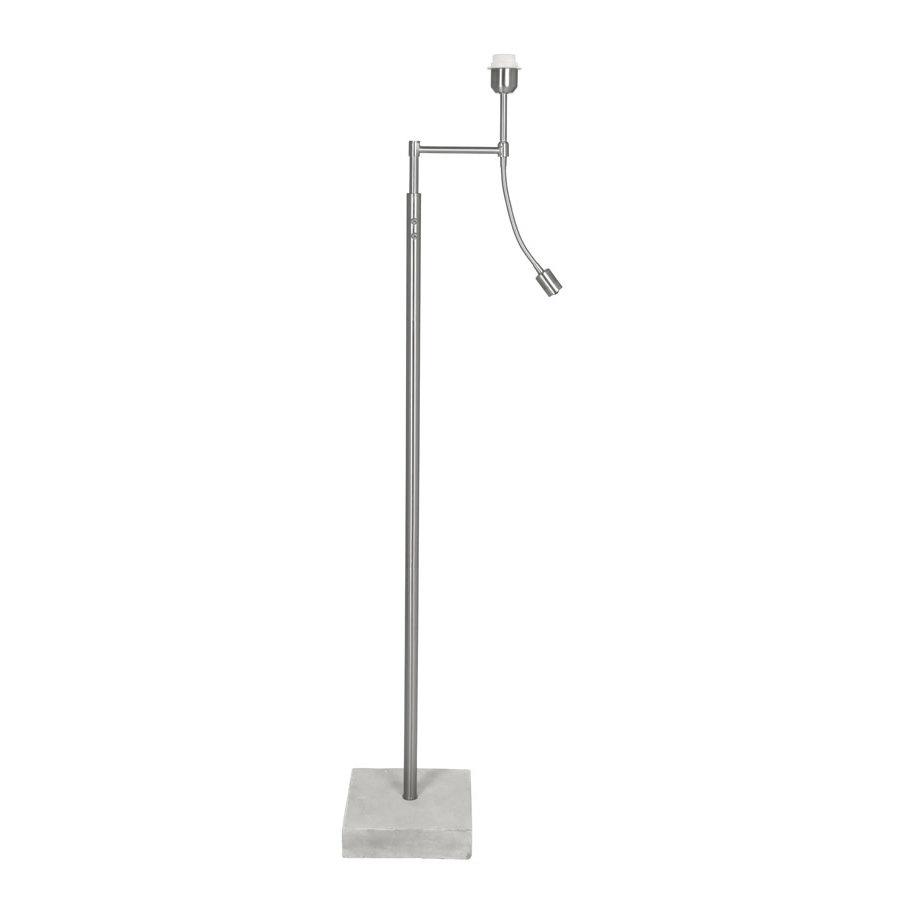 Floor lamp with ledflex 23,5x23,5x140 cm ESSEN concrete-1