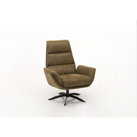 thumb-fauteuil Stof Tex Bull - Bora Space voet zwart - CSS-1