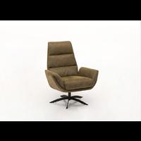 thumb-fauteuil cognac zwart staal voet-1