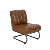 Chair 58x80,5x76,5 cm Sem leather brown
