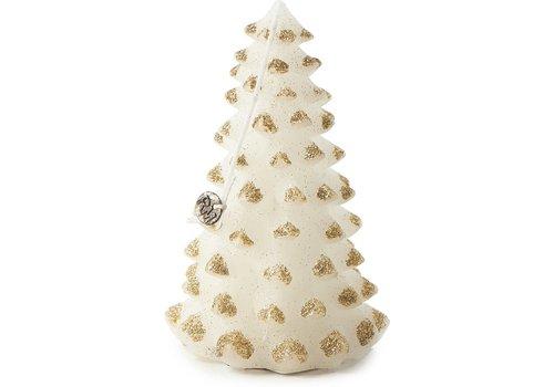 RIVIERA MAISON Christmas Tree Candle Gold M