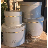 RM Luxurious Giftbox grey S/4