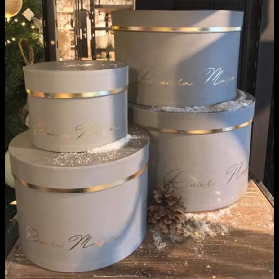 RM Luxurious Giftbox grey S/4-1