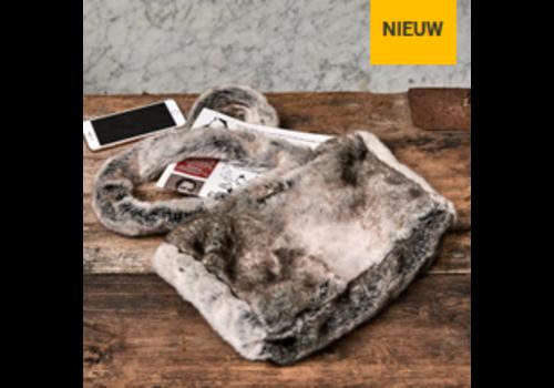 RIVIERA MAISON Magic Mink Faux Fur Bag