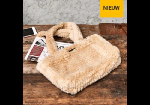 RIVIERA MAISON Fabulous Fuzzy Faux Fur Bag