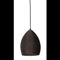 Hanging lamp Ø24x32 cm NAYLA bronze-gold