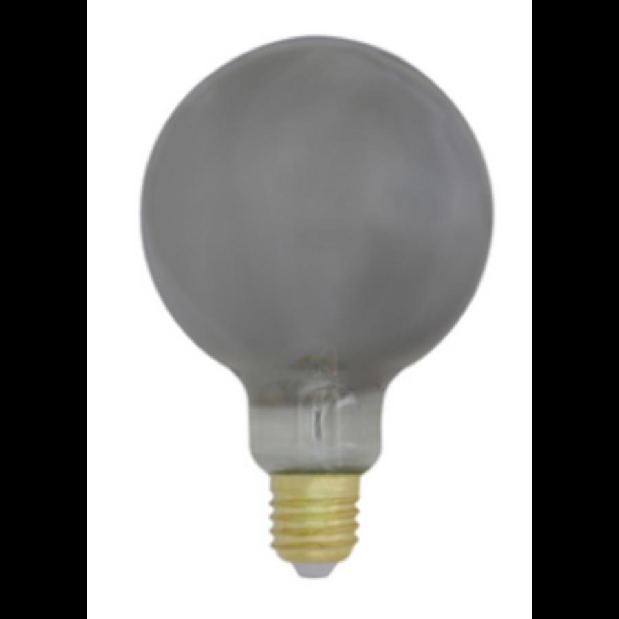 Deco LED globe Ø9,5x14 cm LIGHT 4W smoke E27 dimmable-1