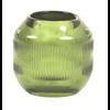 LIGHT & LIVING Tealight Ø9x9 cm PEPPER glass green