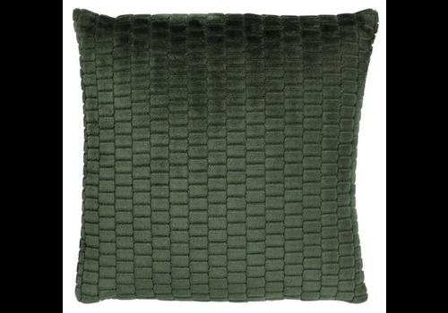 DUTCH DECOR Mayke 45x45 cm groen