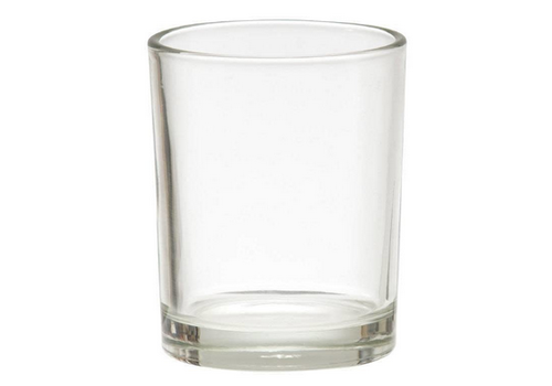 WOODWICK Votive glas recht helder