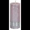 PTMD Kaars metallic zacht roze 12x5