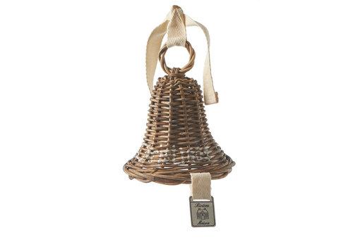 RIVIERA MAISON Rustic Rattan Christmas Bell Ornament S
