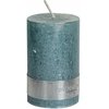 PTMD Kaars metallic munt groen 8x5