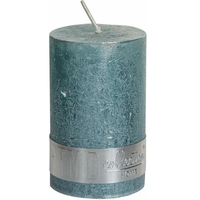 Kaars metallic munt groen 8x5