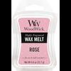 WOODWICK rose mini wax melt