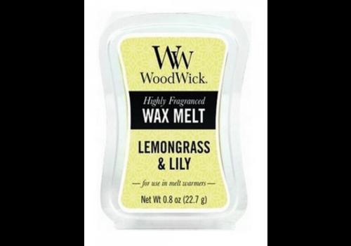 WOODWICK Lemongrass & Lily Mini Wax Melt