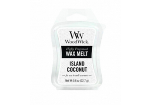 WOODWICK Island Coconut Mini Wax Melt
