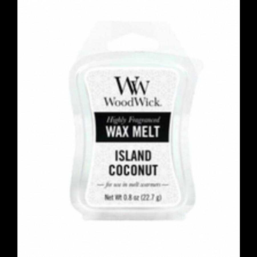 Island Coconut Mini Wax Melt-1