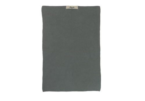 IB LAURSEN Towel Mynte moss green knitted