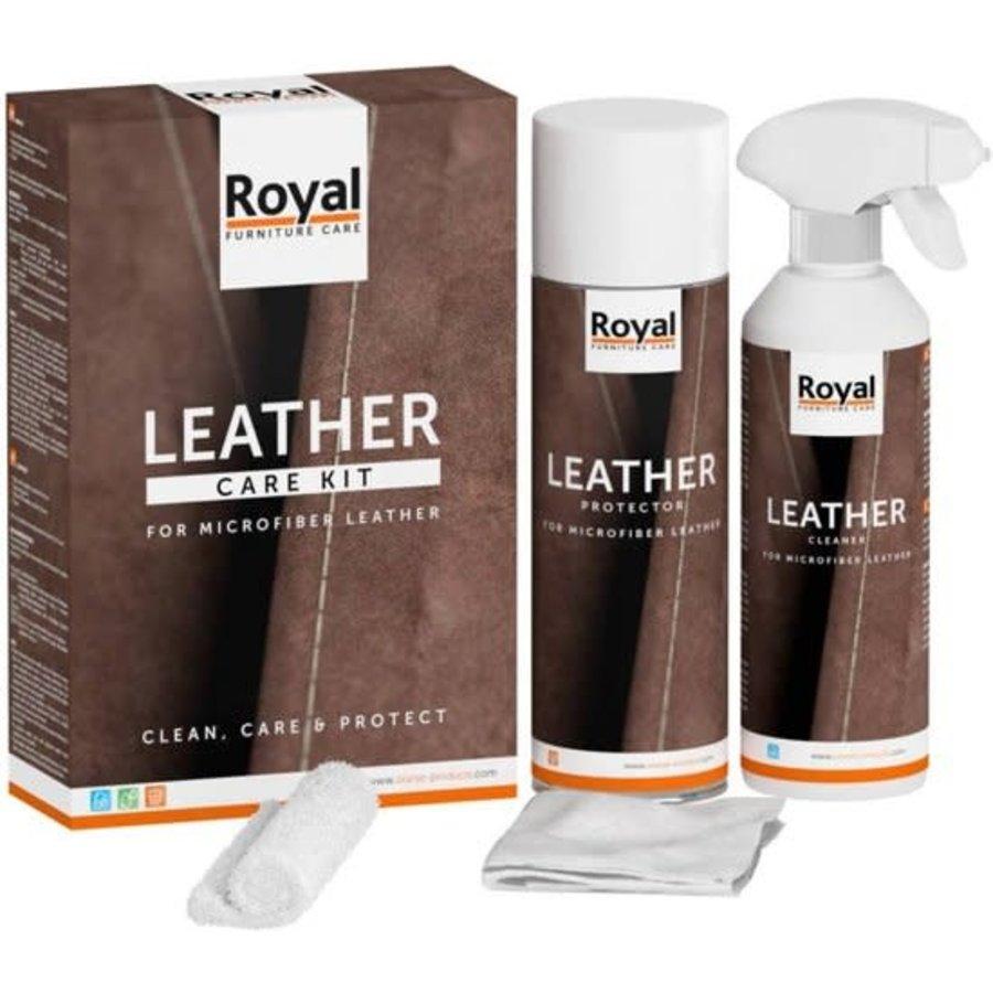 Microfibre Leather Care Kit 2x500ml-1