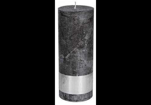 PTMD Kaars swish grey 18x7