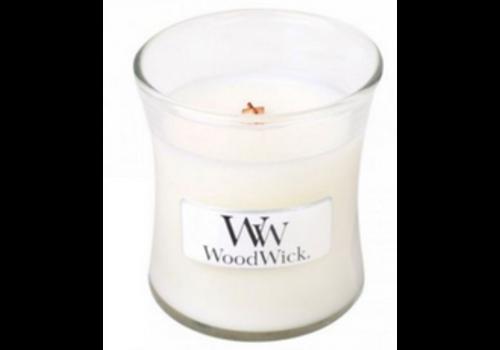 WOODWICK Linen Mini Candle WoodWick