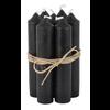 IB LAURSEN Short dinner candle black