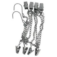 Chain w/8 clips mini