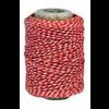 IB LAURSEN String Red/White 50m