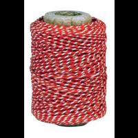 String Red/White 50m