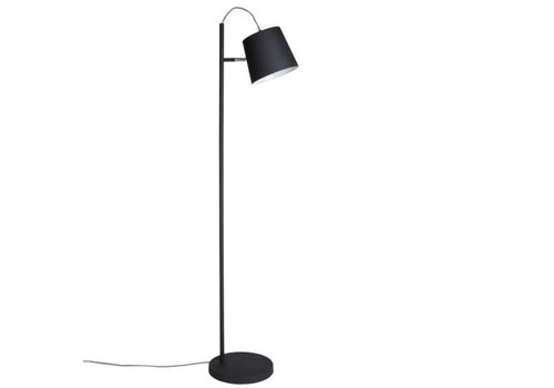 ZUIVER FLOOR LAMP BUCKLE HEAD BLACK
