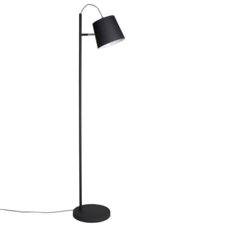 FLOOR LAMP BUCKLE HEAD BLACK-1