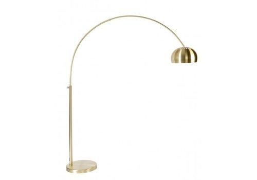 ZUIVER FLOOR LAMP METAL BOW BRASS