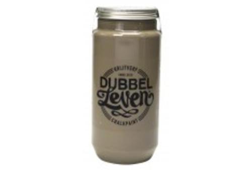 DUBBELLEVEN Krijtverf 750ml Clay